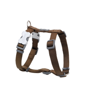 Red Dingo Brown Classic Harness (20mm)