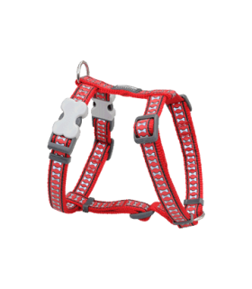 Red Dingo Red Reflective Harness