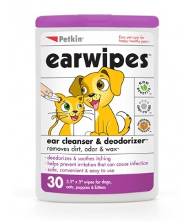 Petkin - Ear Wipes (30ct)