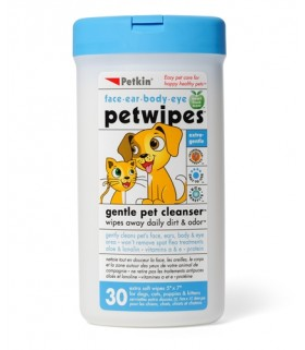 Petkin - Pet Wipes (30 ct)