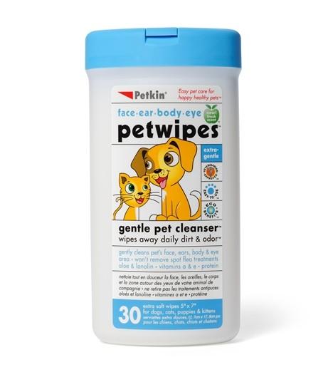 Best Wet Dog Food >> Petkin - Pet Wipes (30ct) - MOOMOOPETS.SG Singapore's ...