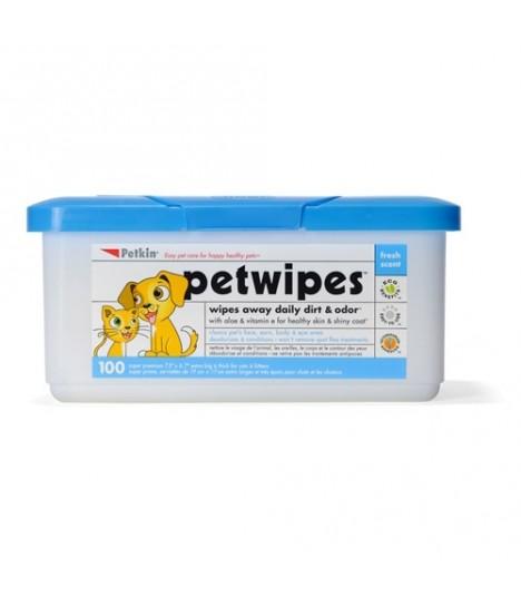 Petkin - Pet Wipes (100ct)