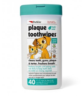Petkin - Tooth Wipes (40ct)