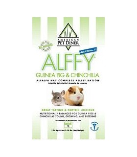 APD Alffy Guinea Pig/ Chinchilla Pellets 2.75lbs