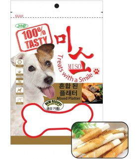 JANP - Biscuit Stick with Chicken Wrap (100G)