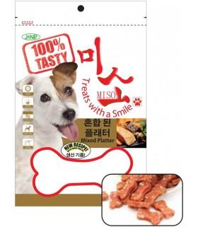 JANP - Dog Bone Shaped Chicken Chip (100G)