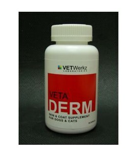 VETWerkz - VETADERM Skin & Coat Supplement