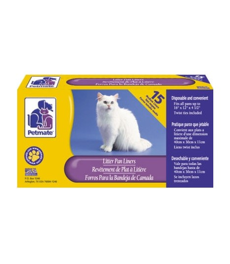 Petmate - Litter Pan Liner (Medium)