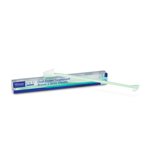 Virbac - C.E.T Dual-Ended Toothbrush