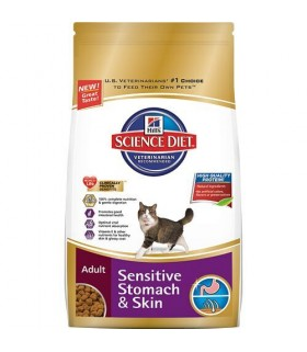 Hill's® Science Diet® Adult Feline Sensitive Stomach & Skin