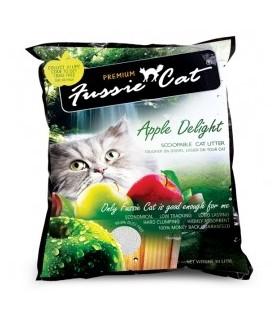 Fussie Cat Litter Apple Delight 10L