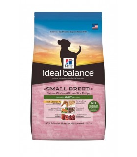 Ideal Balance - Adult Small Breed Natural Chicken and Brown Rice Recipe (4lbs)