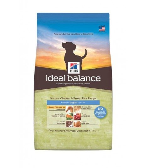 Ideal Balance - Puppy Natural Chicken and Brown Rice Recipe (12.5lbs)