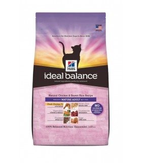 Ideal Balance - Mature Adult Cat Natural Chicken and Brown Rice Recipe (3.5lbs)