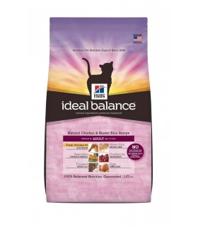 Ideal Balance - Adult Cat Natural Chicken and Brown Rice Recipe (3.5lbs)