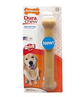 Nylabone - Dura Chew Bone Peanut Butter (Regular)