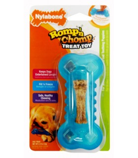 Nylabone - Romp n Chomp Toy Freezer Bone (Petite)