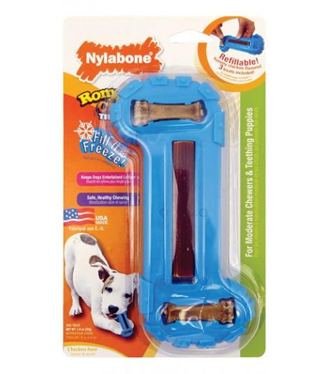 Nylabone - Romp n Chomp Toy Freezer Bone (Wolf)