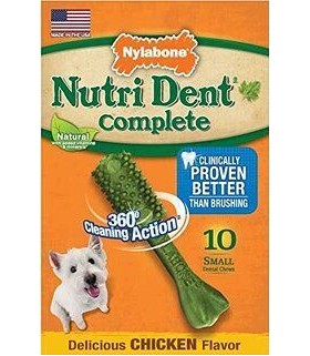 Nylabone - Nutri Dent Complete Chicken - 10ct