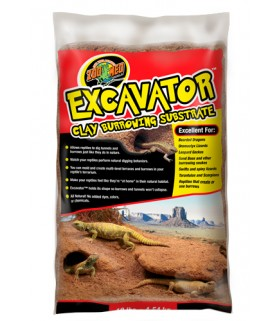 Zoo Med Excavator Clay Burrowing Substrate 20lb