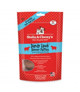Stella & Chewy's Dandy Lamb Freeze Dried Dinner Patties