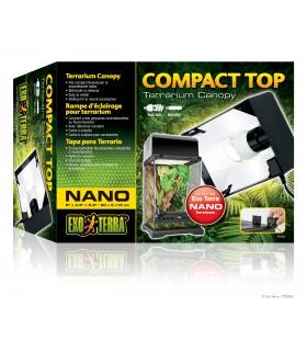 Exo Terra Nano Compact Top / Compact Fluorescent Terrarium Canopy
