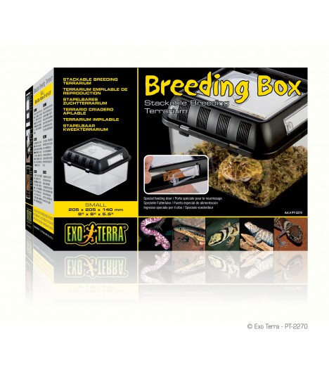 Exo Terra Breeding Box / Stackable Breeding Terrarium S