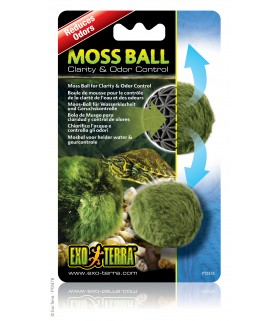 Exo Terra Moss Ball / Clarity & Odor Control