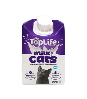 Top Life Milk for Cats 200ml