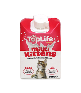 Top Life Milk for Kittens 200ml