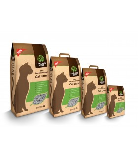 Nature Eco 100% Recycled Paper Cat Litter 30 Litre