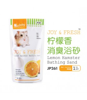 Jolly Joy & Fresh Lemon Hamster Bathing Sand