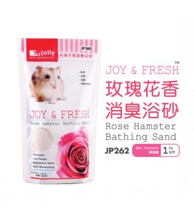 Jolly Joy & Fresh Rose Hamster Bathing Sand