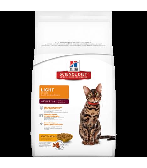 Science Diet Light Cat Food Ingredients