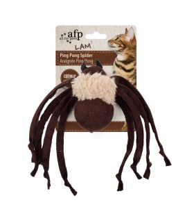 AFP Lamb Ping Pong Spider Toy Brown