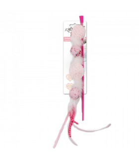 AFP Shabby Chic Cat Multiball Wand Pink