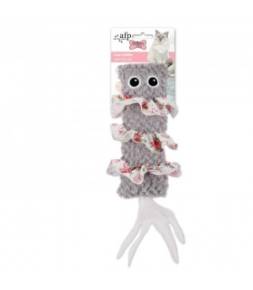 AFP Shabby Chic Cat Cute Cuddler Grey