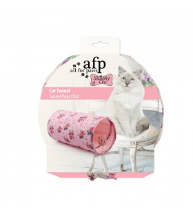 AFP Shabby Chic Cat Summer Time Tunnel Pink