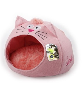 AFP Catzilla Cat Cat House Pink