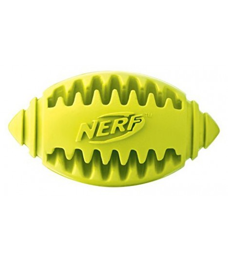Nerf Dog Teether Football Green Small