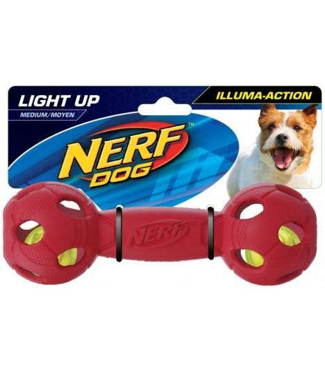 Nerf LED Bash Barbell Red