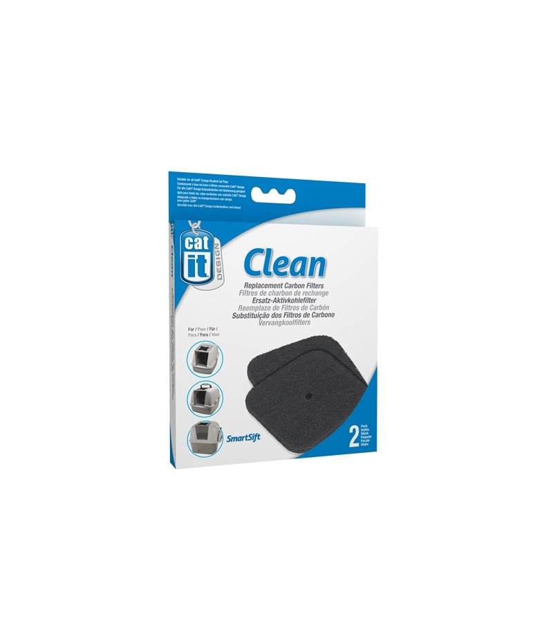 Catit Hooded Cat Litter Box Carbon Filters
