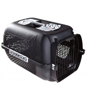 Hagen Catit Profile Voyageur Cat Carrier Medium Black Tiger