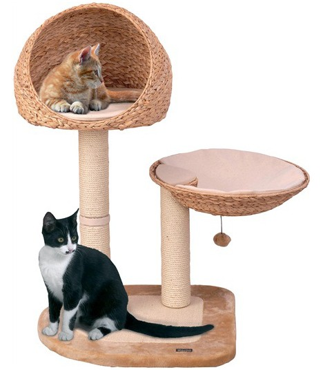 Hagen Catit Banana Leaf V-Scratching Tree