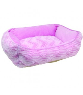 Hagen Catit Rectangular Reversible Cuddle Bed Pink