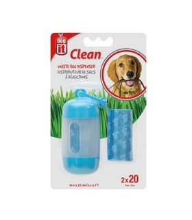 Hagen Dogit Waste Bag Dispenser 2 Rolls Blue