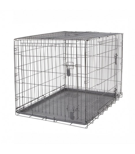 Hagen Dogit Two Door Wire Home Crates with Divider XXL