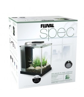 Hagen Fluval Spec 10L Black Desktop Glass