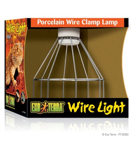 Exo Terra Wire Light Porcelain Wire Lamp
