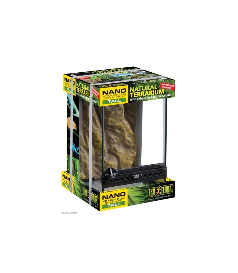 Exo Terra Natural Terrarium Nano Advanced Reptile Habitat